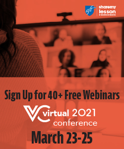 2021 Share My Lesson Virtual Conference