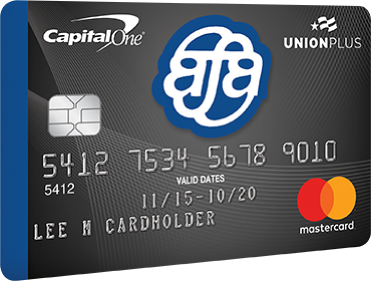 Union Plus Credit Card Program for Union Members and Their